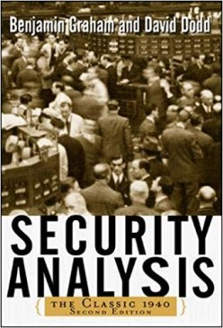security analysis value investing