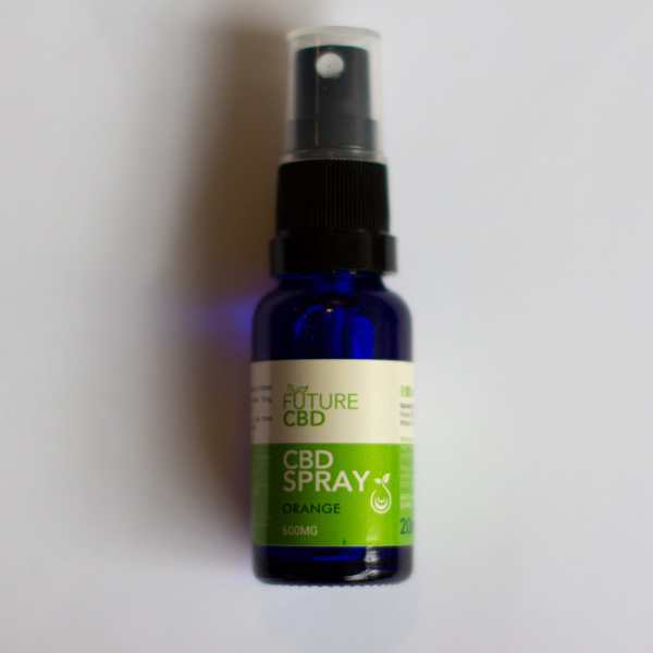 Orange CBD Spray (20ml:600mg) Full Spectrum