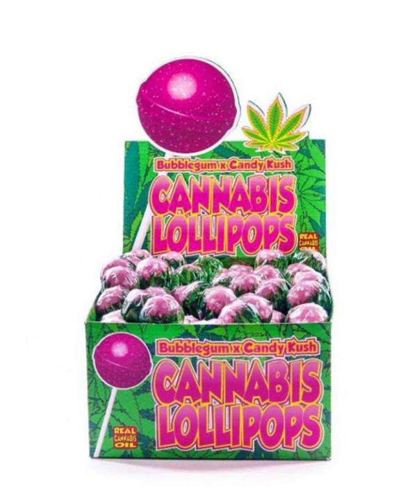Dr. Greenlove's CBD Lollipops - Candy Kush