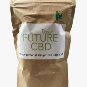 Hempy Lemon & Ginger Tea Bags (20pcs)