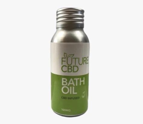 CBD Infused Bath Oil (50ml/100mg)