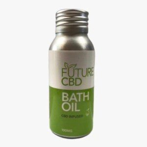 CBD Infused Bath Oil (50ml/100mg)