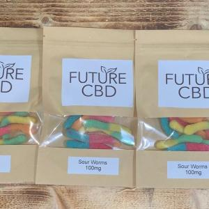 CBD Sour Worms (100mg)