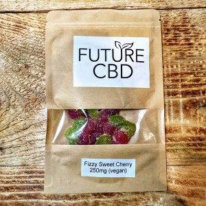 CBD Fizzy Sweet Cherries Vegan (250mg)