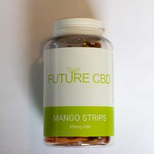 CBD Mango Strips (200mg) 1