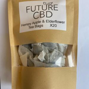 Hempy Apple & Elderflower CBD Tea Bags (20pcs)