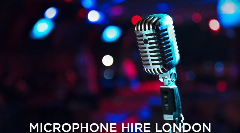Microphone Hire London For Live Concert and Recorded