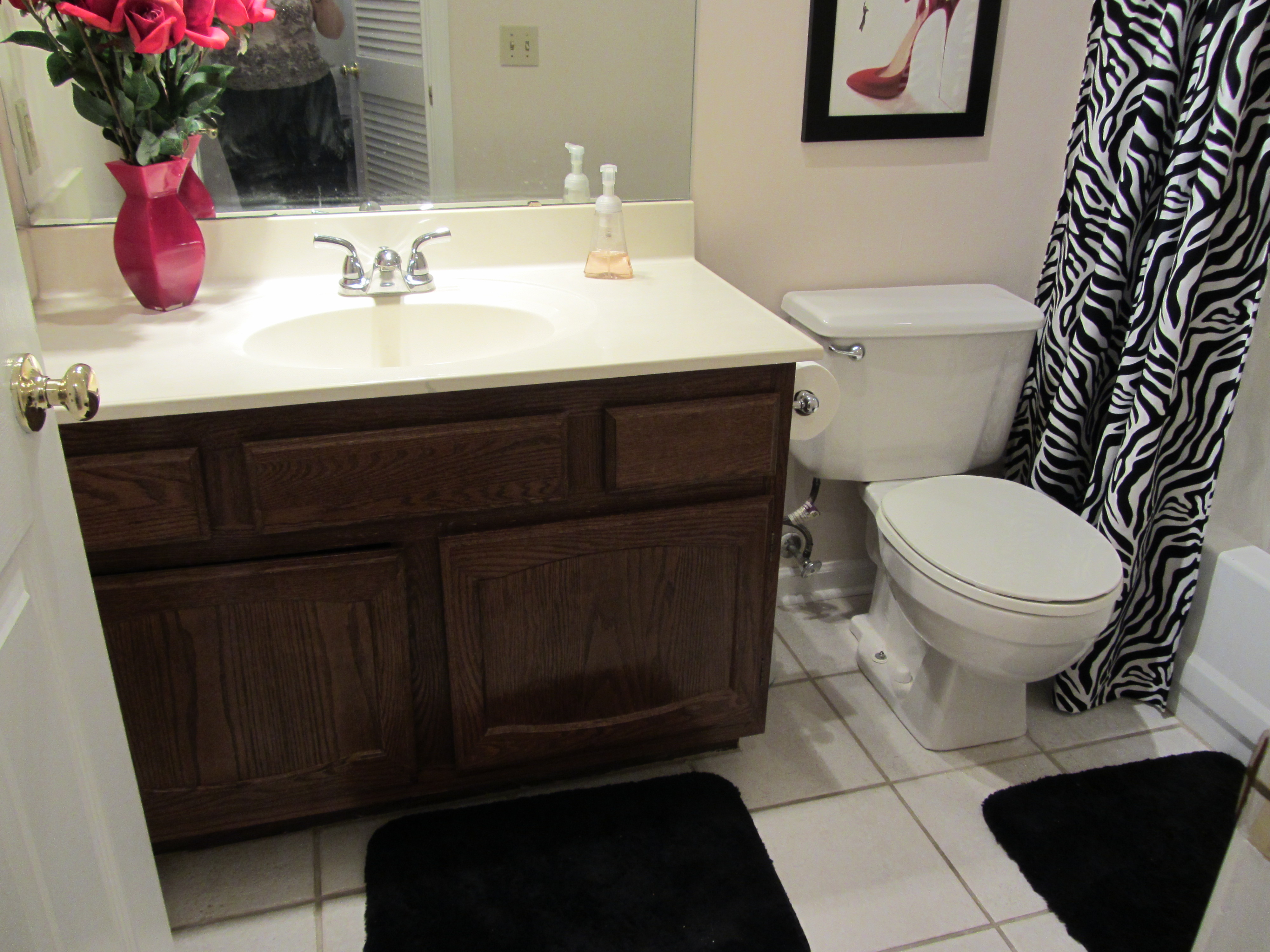small bathroom remodel on a budget – future expat