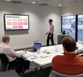 Tristan Coats delivers a HSSMI Circular Economy Bootcamp
