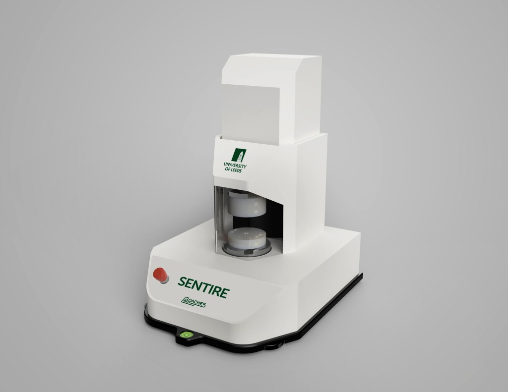 SENTIRE - the fabric evaluation machine developed by Roaches International