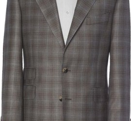 Alex Rose Tailoring check tweed jacket in shades of grey