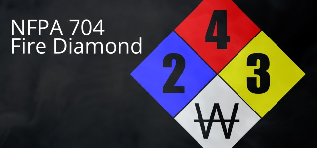 What is the NFPA 704 Fire Diamond? (92sec)