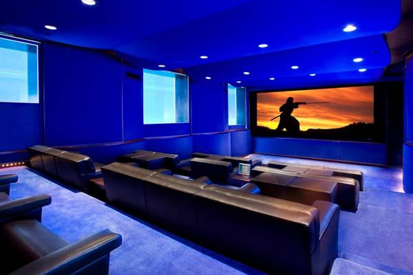 brentwood ca home theater design