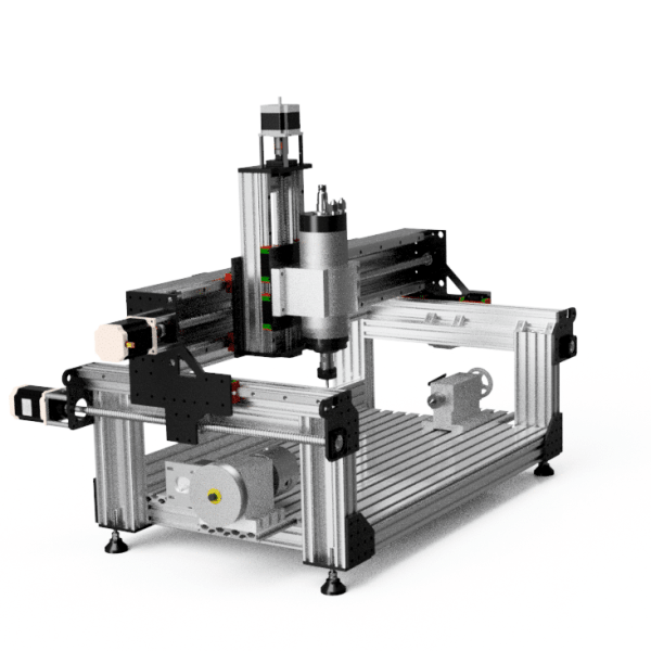 CNC 4 axis Milling Machine