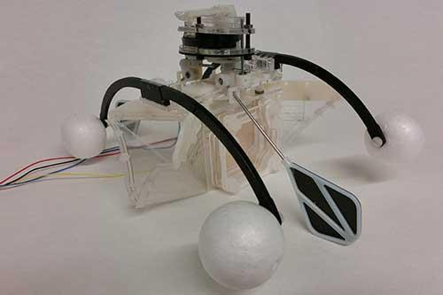 "The ""Row-bot"" is a Self-Sustaining, Bio-Inspired Robot Based On a Beetle"