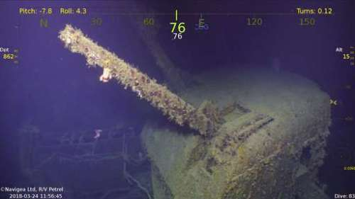Watch the Discovery of a Long-Lost WWII Cruiser, the USS Helena