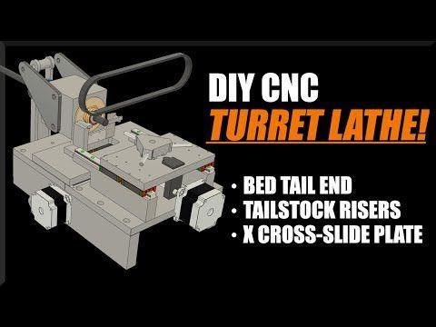 DIY CNC Turret Lathe - Part 2! WW206 | FutureLab3D