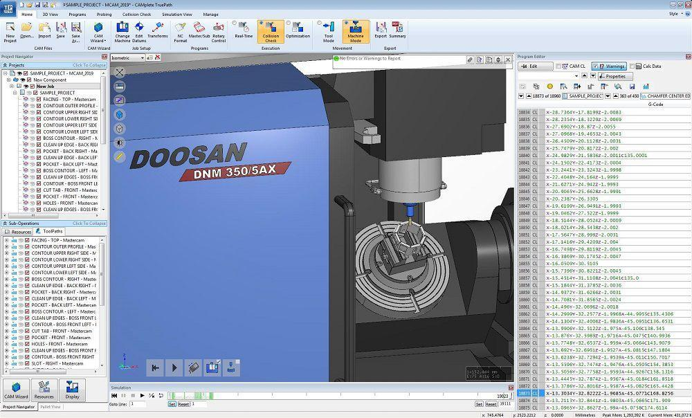 CAMplete Solutions Inc. Partners With Doosan Machine Tools America