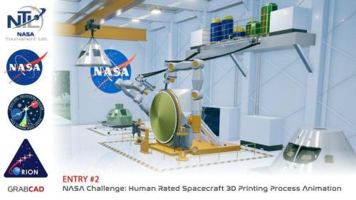 Congratulations to the Winners of the NASA 3D Printing Animation Design Challenge