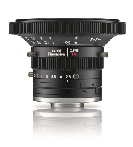 New Industrial Lenses ZEISS Dimension for C-Mount Cameras