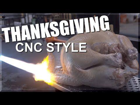 THE BEST CNC THANKSGIVING VIDEO (RELOAD)!