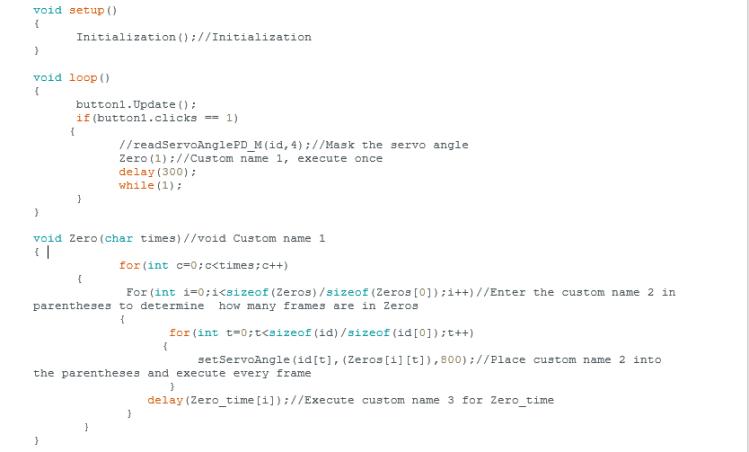 Arduino Syntax Programming Example