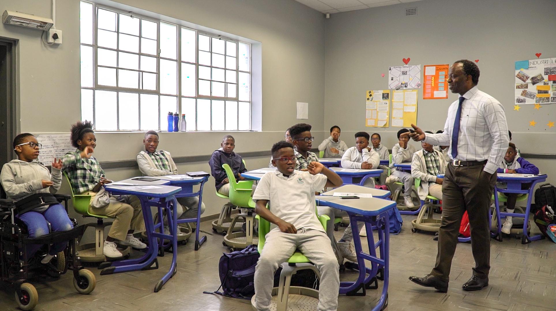 Sizwe Nxasana Future Nations Schools Lyndhurst