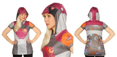 Sabine Wren costume hoodie and tunic