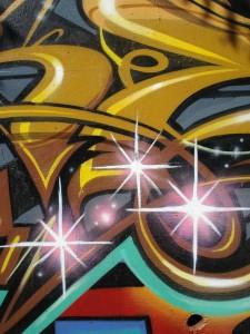 "Sever MSK AWR 7thLetter ""Meeting of Styles"" LosAngeles Graffiti Art LARiver Close-Up"