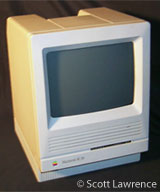 A Mac SE/30 was used by the Commission