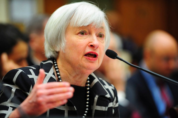 "Federal Reserve Chair Yellen testifies before a House Financial Services Committee hearing on ""Monetary Policy and the State of the Economy."""