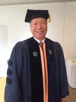 Photo of Curtis Wong in GC regalia