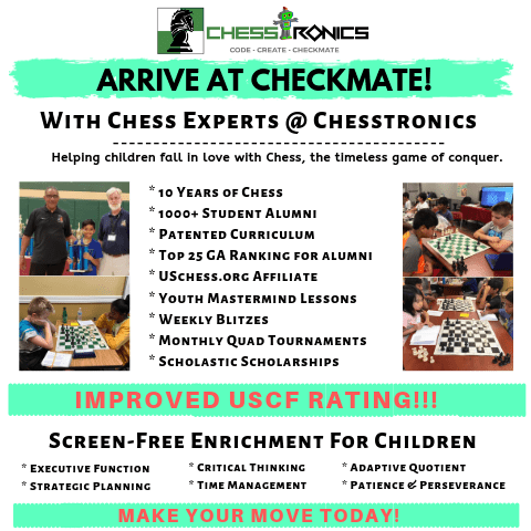 Chesstronics 1st to 5th Grades ~ FutureSTRONG Academy