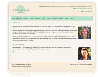 Rotherbank Website