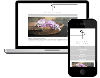 Sarah Parker Interiors Website