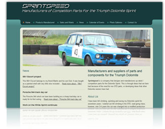 Sprintspeed Website