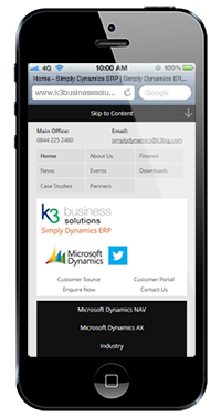 K3 Business Solutions - Responsive