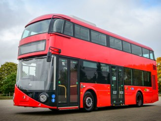 The new Volvo B5LHC has the ability to operate with zero tail pipe emissions in electric mode