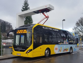 electric buses from belgium