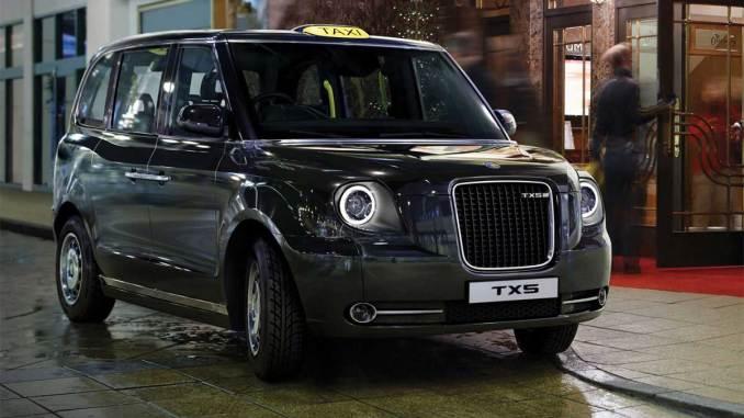 black cabs elétricos