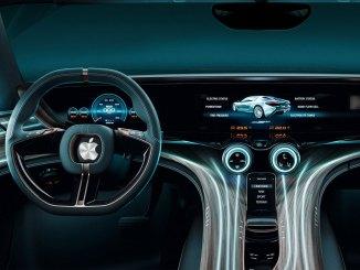veículo Apple autônomo