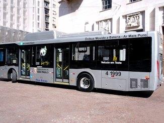 ônibus da BYD