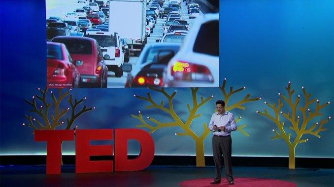palestras sobre mobilidade e futuro do TED