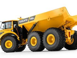 caminhão articulado Volvo