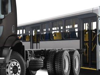 Vendas de caminhões e ônibus novos