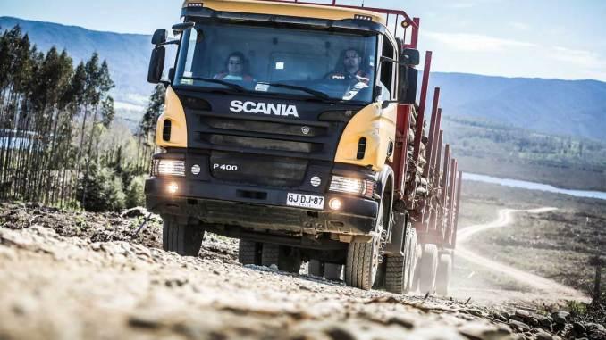 Scania amplia market share no Chile
