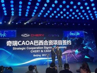 joint venture entre a CAOA e a Chery
