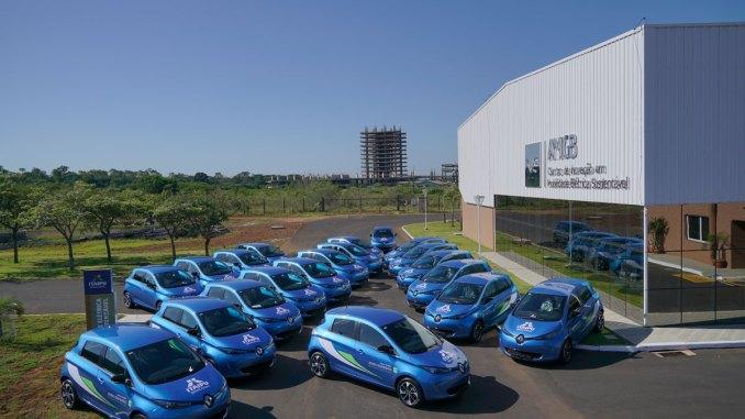 Itaipu Binacional adquire 20 Renault ZOE