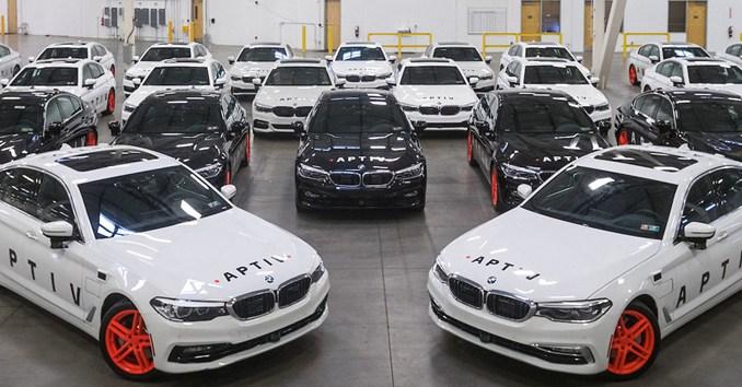 Aptiv anuncia lançamento de uma frota de 30 veículos autônomos