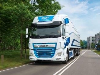 caminhões elétricos CF
